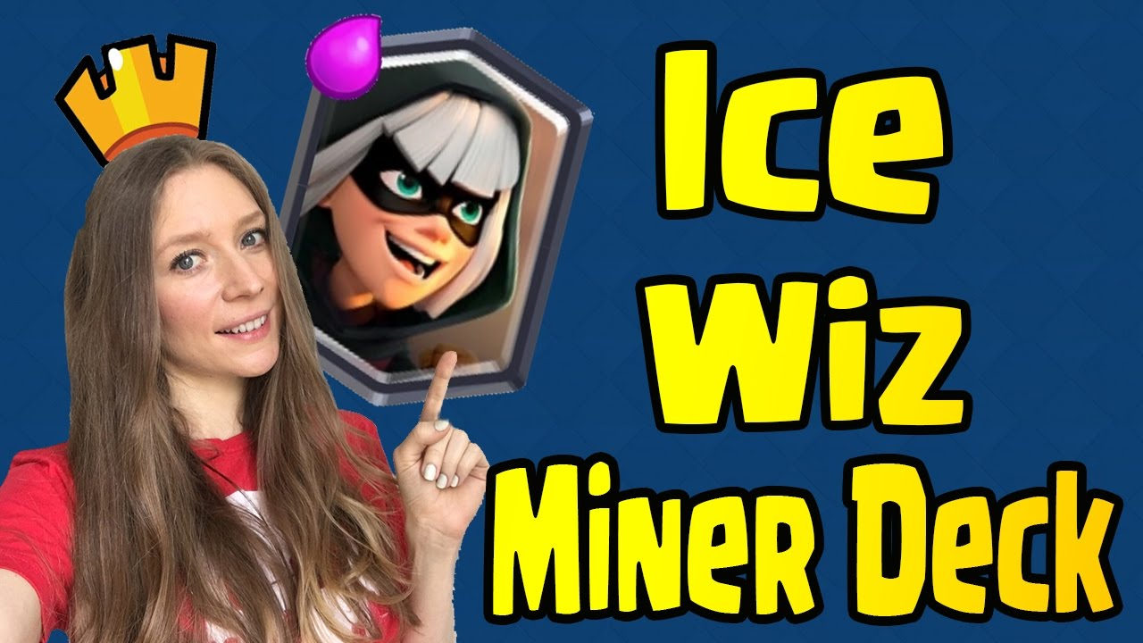 Clash Royale Bandit In The Shop Easy Ice Wizard Deck