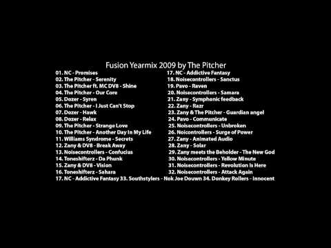 Fusion Yearmix 2009 by The Pitcher