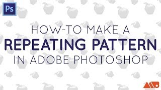 How-to Make A Repeating Pattern In Adobe Photoshop
