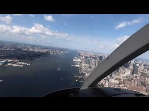Complete 25 Minute HELICOPTER RIDE In NEW YORK CITY ( NYC ) - 2018 - Start To Finish.