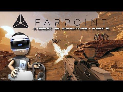 FARPOINT VR WALKTHROUGH - PART 5 // PlayStation VR // PSVR // PS4 thumbnail