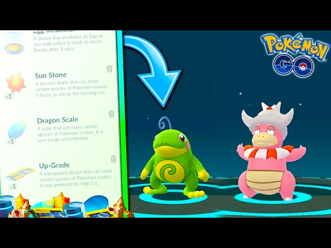 5279386e68 HOW TO GET/USE NEW EVOLUTION ITEMS IN POKEMON GO! + EVOLVING TO NEW GEN 2  POKEMON!
