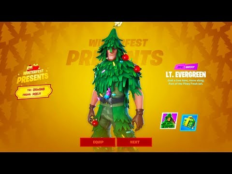 How to Get *SECRET CHRISTMAS SKIN* for FREE in Fortnite! (Evergreen Skin)