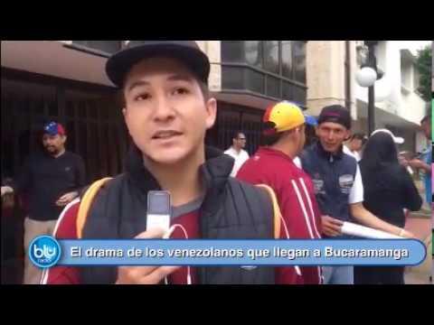 El drama de los venezolanos que llegan a Bucaramanga huyendo de la crisis