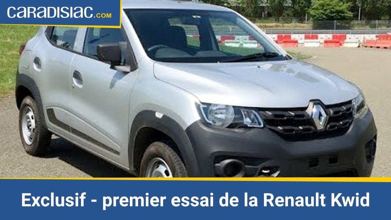 Exclusif Premier Essai De La Renault Kwid La Citadine A 3 500