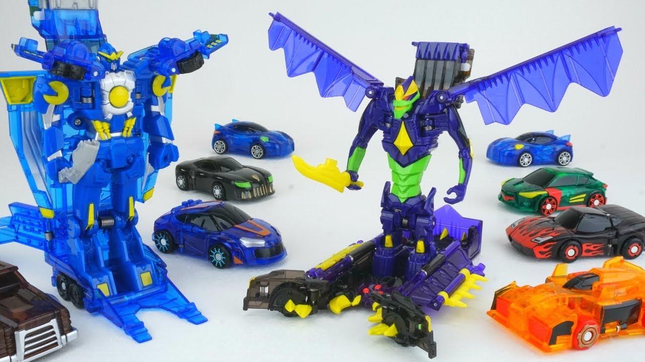 Mecard Ex Jumbo Mecardimal Figure Purple Toys