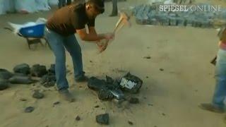 Drogenfund in Peru: 3 Tonnen Kokain in Teerklumpen versteckt