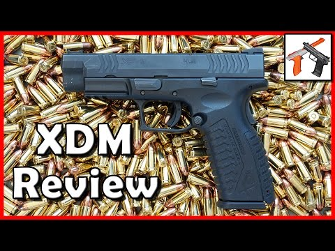 Springfield XDM 9mm Review: Better Than Glock 17 / 19.  One of the Best Full Size Pistols (XD, XD M)