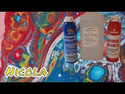 Pouring 22: 3 Silicon Öle im Test (Fuser Oil vs. Centralin vs.TOP CRAFT)