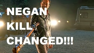 The Walking Dead Season 7 - NEGAN KILL CHANGED!!! - NEW FACTS!!!