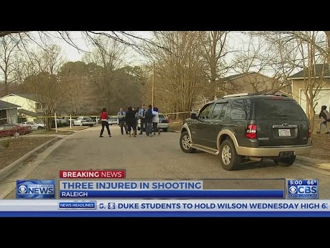 3 injured in Raleigh shooting, police say