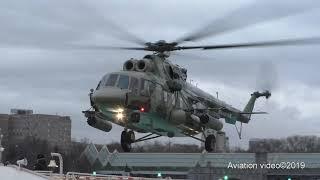 """МИ-8АМТШ с НАР Полеты для съемки передачи """"Военная приемка"""""""