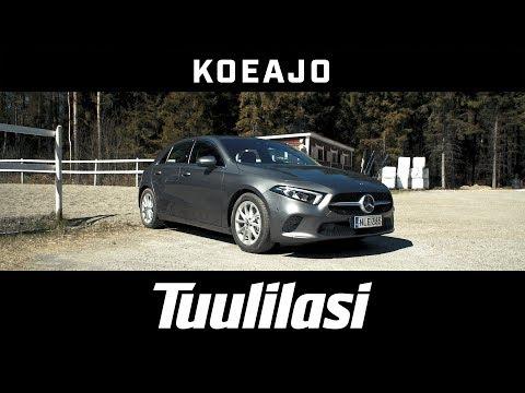 Koeajo: Mercedes-Benz A 200 Launch Edition Progressive - Tuulilasi