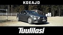 Koeajo: Mercedes-Benz A 200 Launch Edition Progressive - Tuulilasi