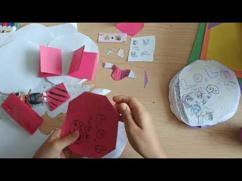 DIY(do it yourself) paper 2D L.O.L. surprise