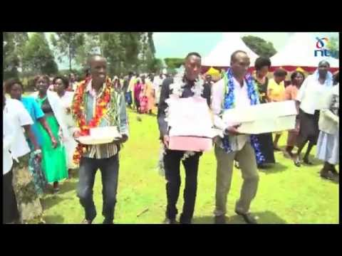 Heroic homecoming for Olympic gold medalist Conseslus Kipruto