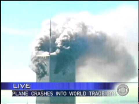 9/11 News Coverage:  8:52 AM: CBS Breaking News: 1st Plane Crash