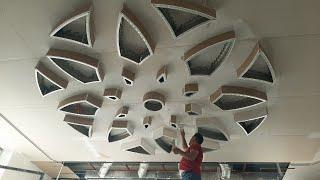 İşçilikte Level Atlamış Harika Alçıpancılar. - plasterboard ceiling - suspended ceiling - drywall