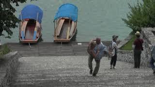 99 ступеней Миша & Наташа. Озеро Блед, Словения.
