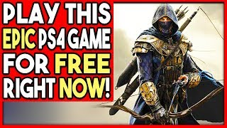 PLAY THIS AWESOME PS4 GAME FOR FREE RIGHT NOW - LIMITED TIME!