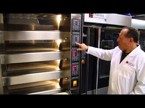 Empire's ENERGY Electric Deck Oven with Easy Loader | Empire