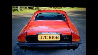 Jaguar xjs pre he 1975 original jaguar launch brochure car