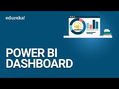 Power BI Dashboard | How To Create A Dashboard In Power BI Desktop | Power BI Tutorial | Edureka