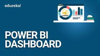 Power BI لوحة أجهزة القياس | كيفية إنشاء لوحة القيادة في الطاقة BI سطح المكتب | Power BI التعليمي | Edureka
