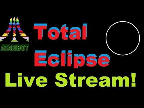 Eclipse Live Stream from North Charleston South Carolina