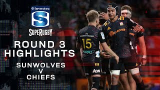 ROUND 3 HIGHLIGHTS | Sunwolves v Chiefs – 2020