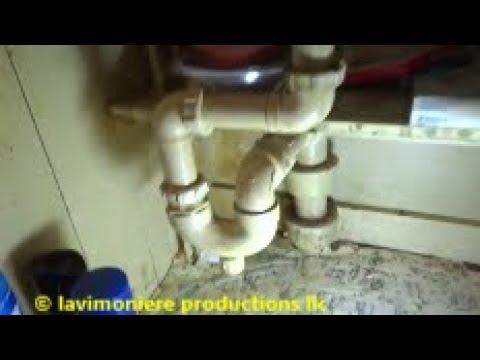 blocked kitchen sink drain fixed