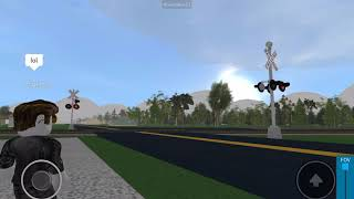 NS local freight train at Trinity Alabama in Roblox with my friend middle Tennessee, Railfan again