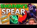 NEW ITEM - THE SPEAR OF SHO-JHIN!! UNKILLABLE ADC WITH 600+ AD!?