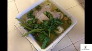 Fried Wontons For Lunch, Wonton Soup For Dinner 6/20/2013
