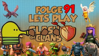 "[Folge 91. ""Doodle Clash""] Let´s Play - Clash of Clans [Deutsch/German]"
