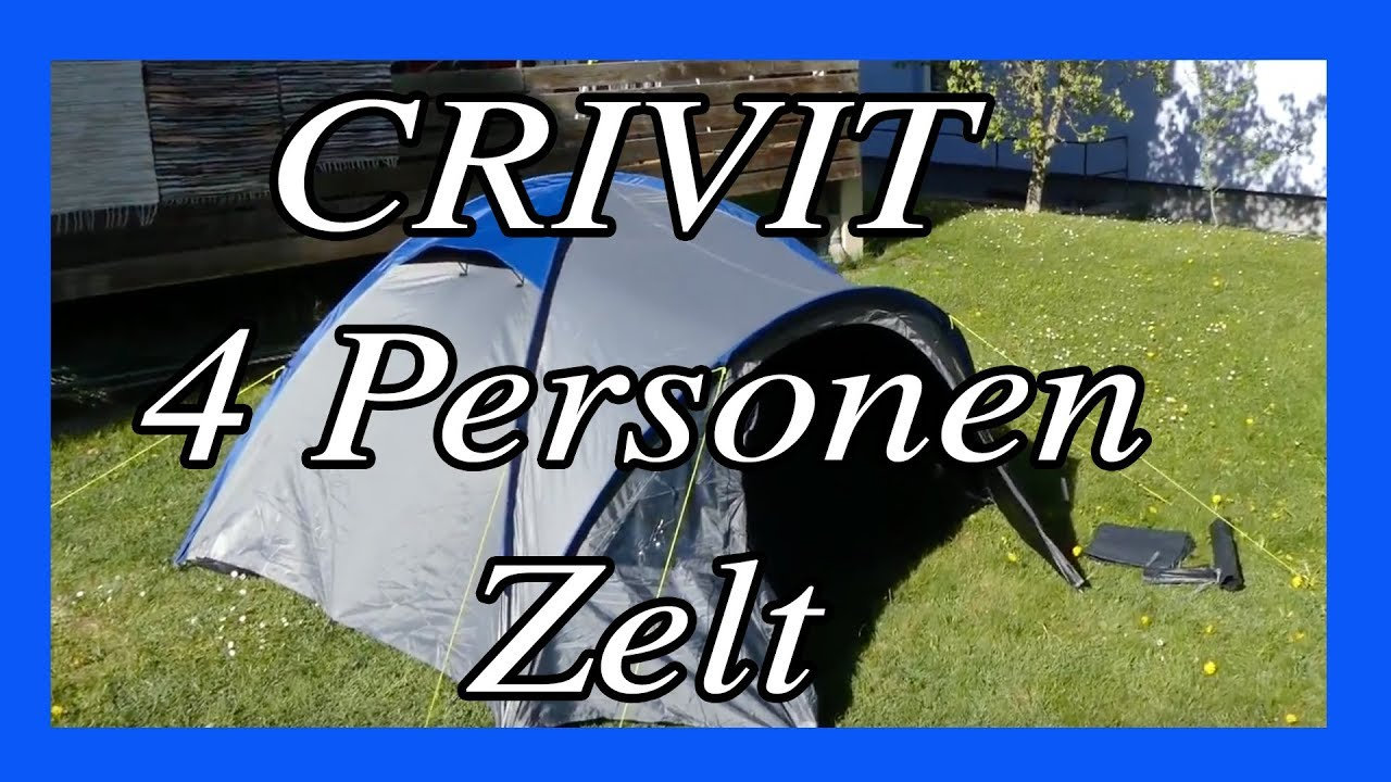 vier personen zelt f r 35 lidl angebot 2018 crivit. Black Bedroom Furniture Sets. Home Design Ideas