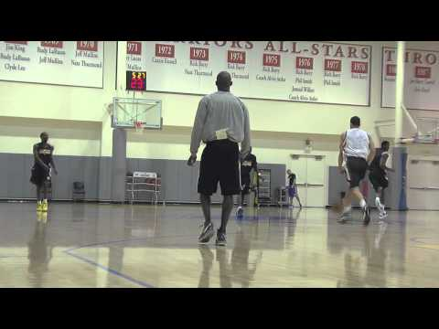 Behind The Scenes Of A Pre-Draft Workout
