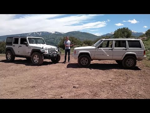 My $300 Jeep Cherokee Died, So I Drove a $40,000 Wrangler Unlimited Rubicon