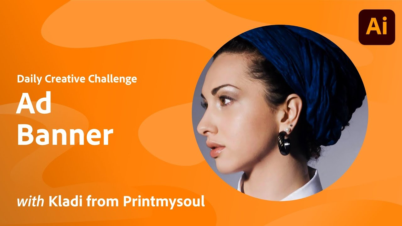 Illustrator Daily Creative Challenge - Ad Banner