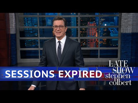 Jeff Sessions Bids Stephen Adieu