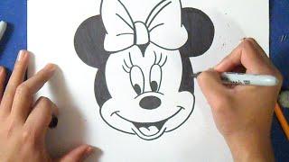 Video como desenhar Minnie Mouse download MP3, 3GP, MP4, WEBM, AVI, FLV Juli 2018