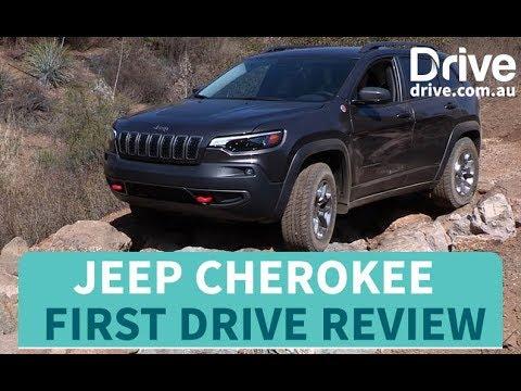 2018 Jeep Cherokee First Drive Review   Drive.com.au - Dauer: 3 Minuten, 21 Sekunden