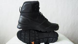 Обзор ботинок Nike Stasis ACG Leather