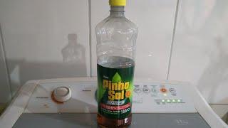 lavando roupas com Pinho sol é surpreendente 👕👖👗👚👘