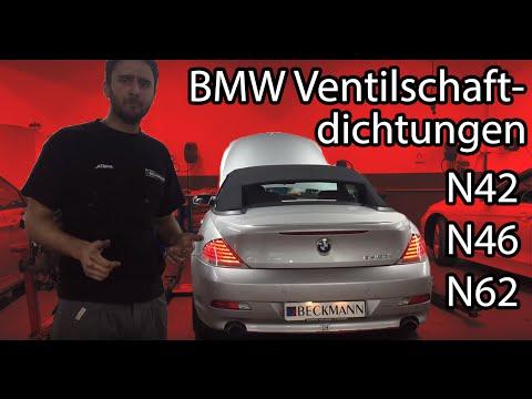 VSD Reparatur N42/N46/N62 BMW Ölverbrauch VSD wechsel ohne Demontage Zylinderkopf Teil I
