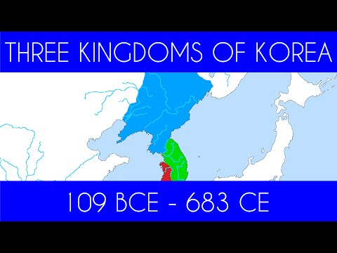 The Three Kingdoms of Korea