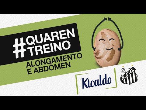ALONGAMENTO E ABDOMINAIS | #QUARENTREINO KICALDO