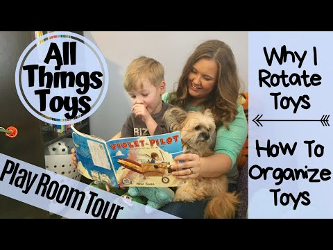 Playroom Tour | Toy Rotation | Organization Tips | Kenzie Kate