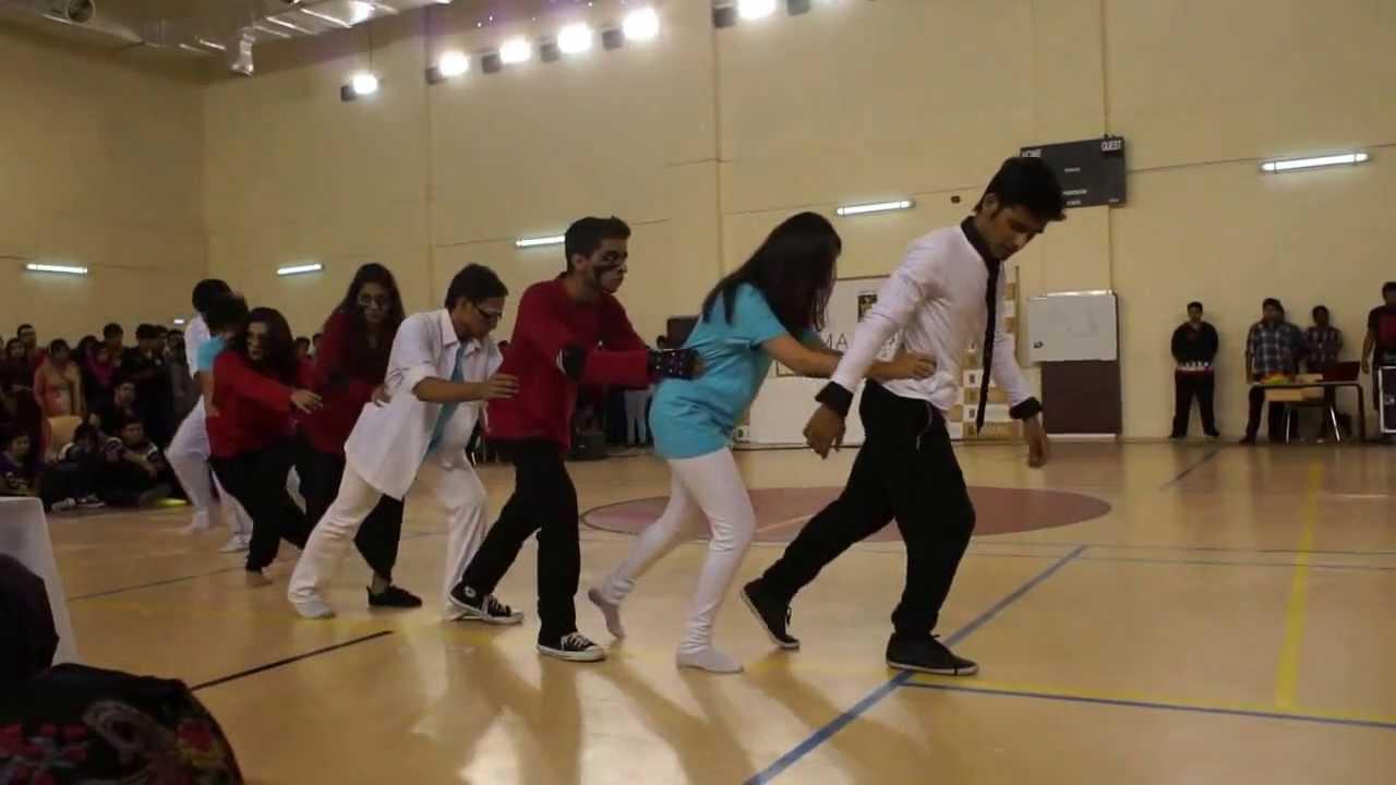 Manipal University DubaiInter DepartmentInterior DesignGroup Dance