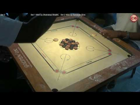 SF Sandeep Dive Vs Shahabaz Shaikh Set 3 Mumbai Suburban District Carrom Organised Mayor Cup
